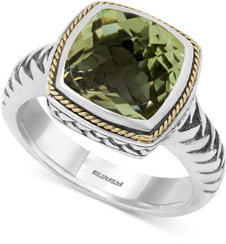 Effy Balissima by Prasiolite (4 ct. t.w.) Ring in 18k Gold and Sterling Silver