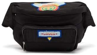 Gucci Multicoloured Logo Patch Belt Bag - Womens - Black Multi