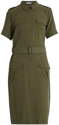 EQUIPMENT Petra short-sleeved silk shirtdress $394 thestylecure.com