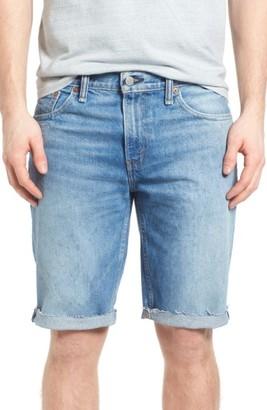 Men's Levi's 511(TM) Cutoff Denim Shorts $50 thestylecure.com