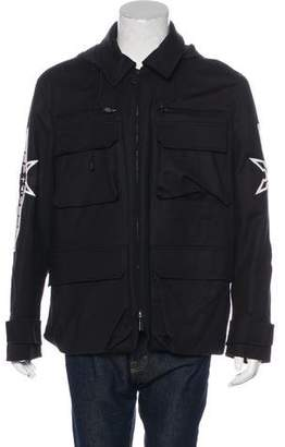 Marcelo Burlon County of Milan Hooded Field Jacket w/ Tags