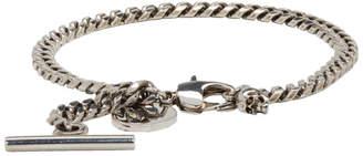 Alexander McQueen Silver Chain Bracelet