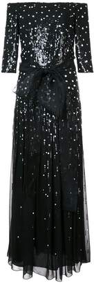 Carolina Herrera Pailette sequinned gown