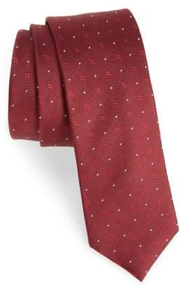 The Tie Bar Geo Key Geometric Silk Tie