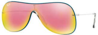 Ray-Ban Lens-Over-Frame Aviator Sunglasses