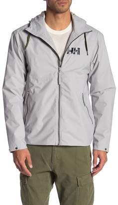 Helly Hansen Front Zip Hooded Rain Jacket