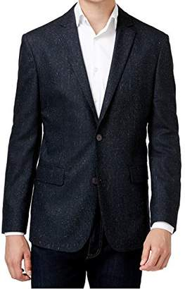 Vince Camuto Men's Notch Collar Tweed Jacket