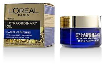 L'Oreal NEW Extraordinary Oil Night Cream Mask 50ml Womens Skin Care