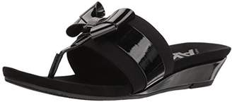 Anne Klein AK Sport Women's Impeccable Sandal Slide