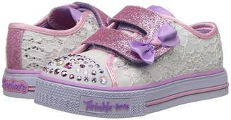 Skechers Twinkle Toes: Shuffles - Sweet Steppers 10897N Lights Girl's Shoes