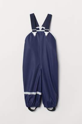 H&M Rain trousers with braces