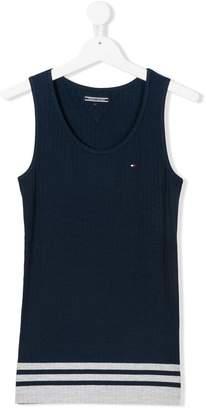 Tommy Hilfiger Junior TEEN striped hem vest top