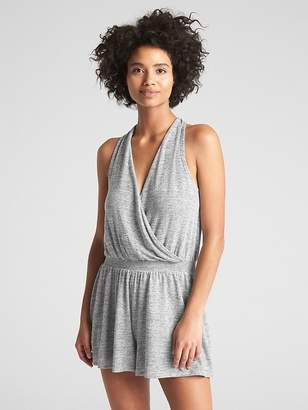 Gap Softspun Halter-Neck Romper