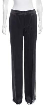 Akris Silk High-Rise Wide-Leg Pants w/ Tags