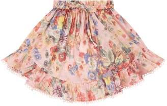 Zimmermann Lovelorn Floral Skirt