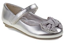 Laura Ashley Toddler Girls' Bow Mary Jane Shoes $36.99 thestylecure.com