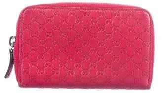 Gucci Microguccissima Zip Card Holder