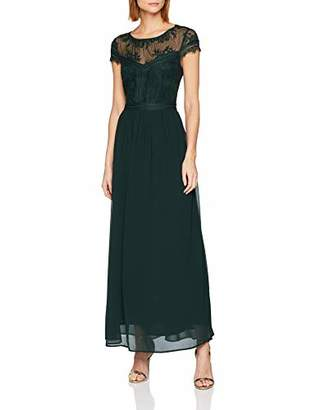 Esprit Women's 118eo1e017 Dress, (Black 001), 8 (Size: 34)