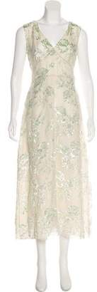 Rochas Sleeveless Midi Dress w/ Tags