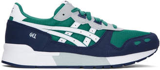 Asics Green and White Gel-Lyte Sneakers