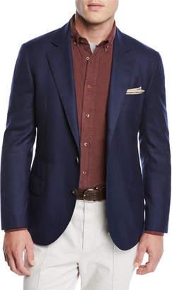 Brunello Cucinelli Men's Cashmere Two-Button Jacket