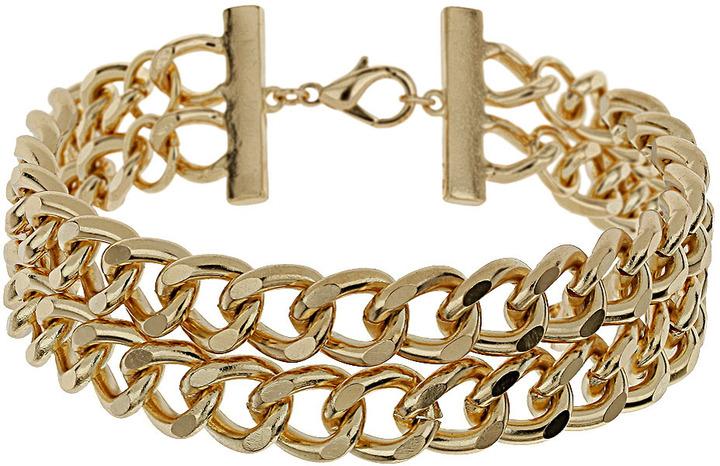Topshop Chunky Curb Chain Choker