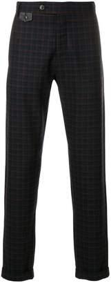 Al Duca D'Aosta 1902 check suit trousers