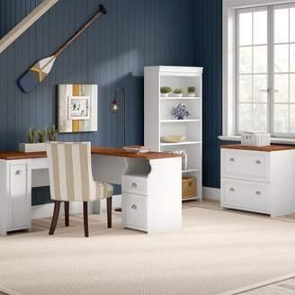 Beachcrest Home Oakridge 3 Piece L-Shape Desk Office Suite