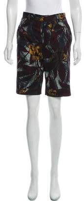 Marc Jacobs High-Rise Patterned Shorts