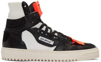 Off-White Black and White Low 3.0 High-Top Sneakers