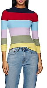 JoosTricot Women's Striped Cotton-Blend Sweater