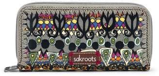 Sakroots Artist Circle Double Zip Wallet