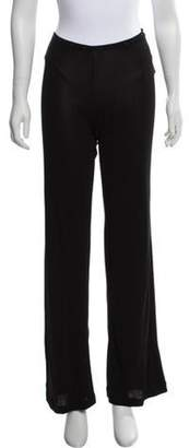 Jean Paul Gaultier Mid-Rise Wide-Leg Pants Black Mid-Rise Wide-Leg Pants