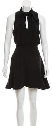 Elizabeth and James Sleeveless Mini Dress