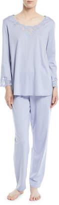 Natori Bliss Long-Sleeve Pajama Set