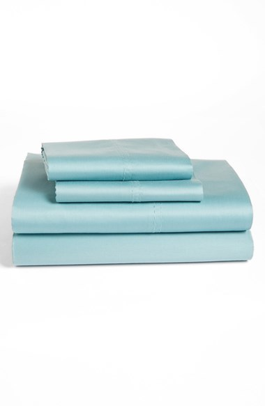 Nordstrom 300 Thread Count Sateen Fitted Sheet