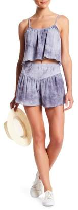 Honeybelle Honey Belle Smocked Tie-Dye Shorts