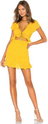 by the way. Mercy Polka Dot Dress