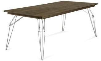 "Saloom Furniture LEM 80"" Dining Table Furniture"