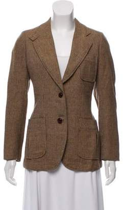 Burberry Vintage Wool Blazer Brown Vintage Wool Blazer
