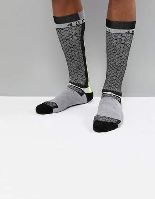 Asos 4505 ski socks with compression support & quick dry