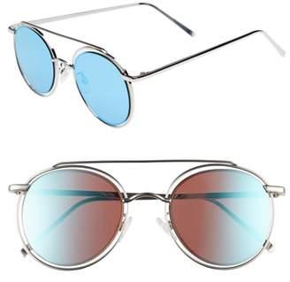 Leith 50mm Browbar Sunglasses