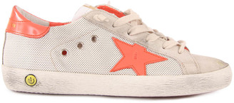 GOLDEN GOOSE Superstar Mesh Lace-Up Trainers $224.40 thestylecure.com