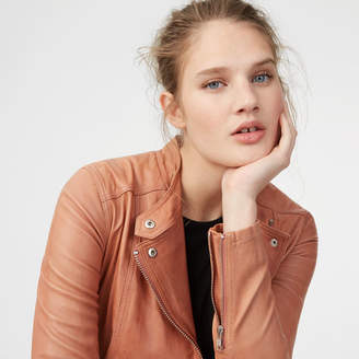 Club Monaco Rowlen Leather Jacket