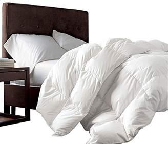 "Super King Oversized California King Down Alternative Comforter (120"" x 98"") 116 Ounces of Fill"