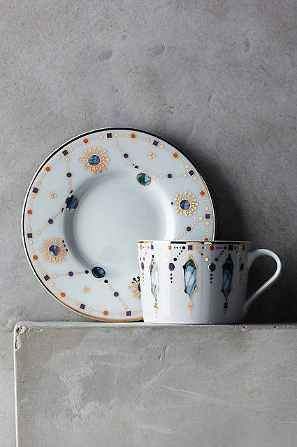 Anthropologie Formoria Cup & Saucer