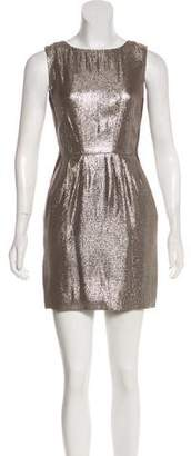 Jenni Kayne Metallic Sleeveless Dress