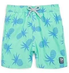 Trunks Tom & Teddy Baby's, Toddler's, Little Boy's& Boy's Pineapple Swimming