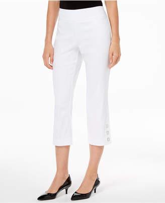 JM Collection Slim-Leg Capri Pants, Created for Macy's