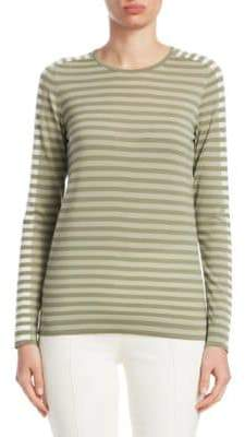 Akris Punto Stripe-Knit Top